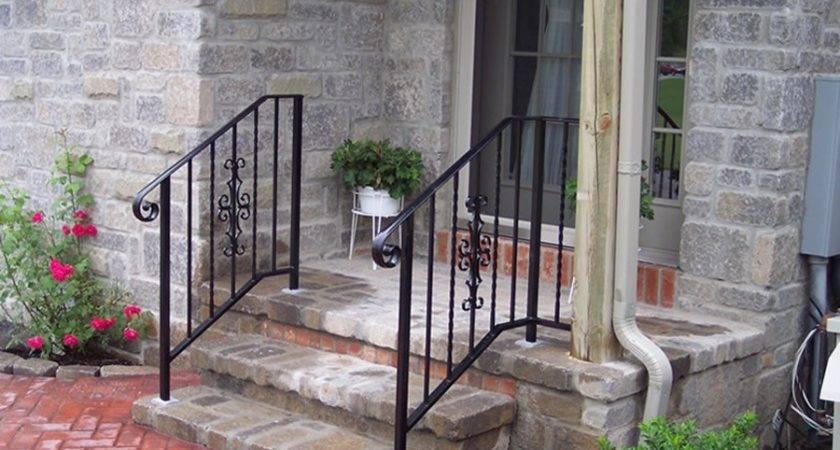 Aluminum Porch Railings Ideas Bistrodre