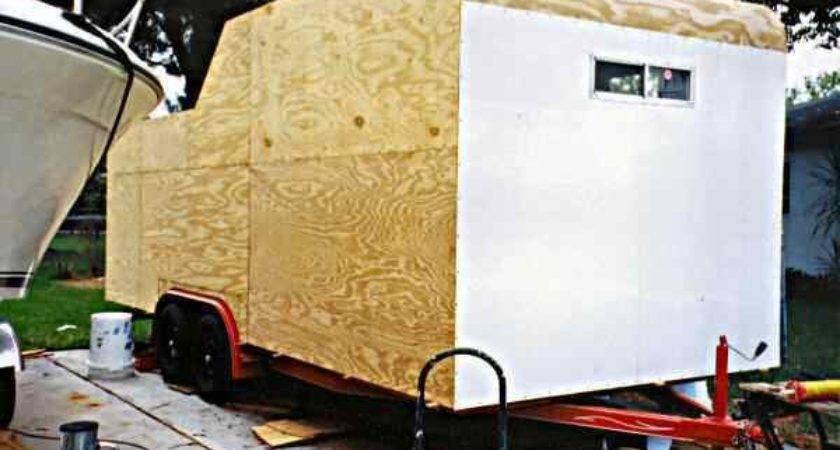 Aluminum Sheet Camper