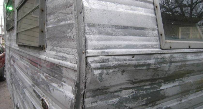 Aluminum Siding Travel Trailer Repair