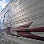 Aluminum Siding Travel Trailer