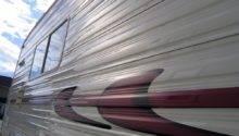 Aluminum Siding Travel Trailer