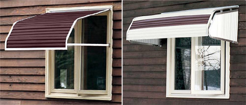 Aluminum Window Awnings Sale - Get in The Trailer