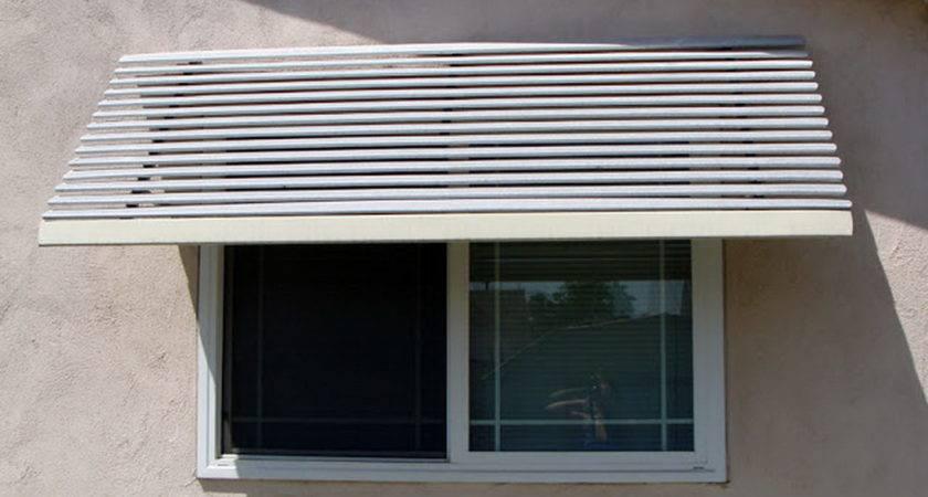 Aluminum Window Awnings Sunshine Grove