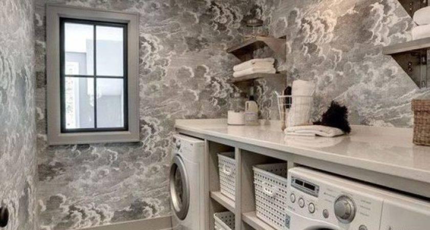Amazing Basement Laundry Room Ideas Make Love