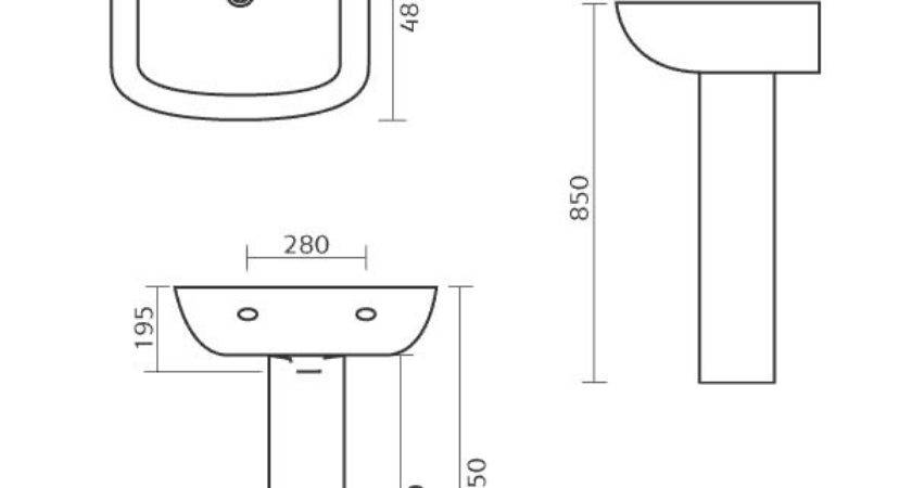 Amazing Bathroom Sink Sizes Befon Intended Standard