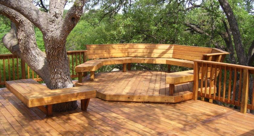 Amazing Beautifuly Wood Deck Designs Ideas Native Home