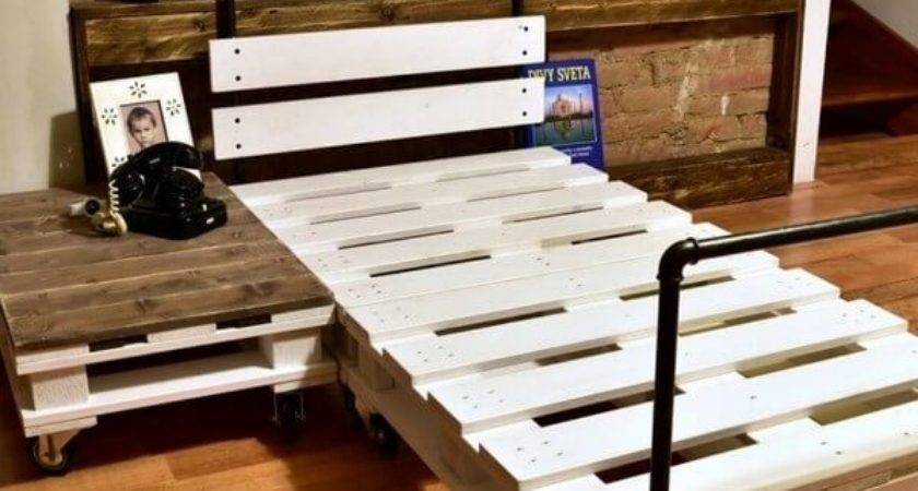 Amazing Bed Frame Ideas Old Wood Pallets