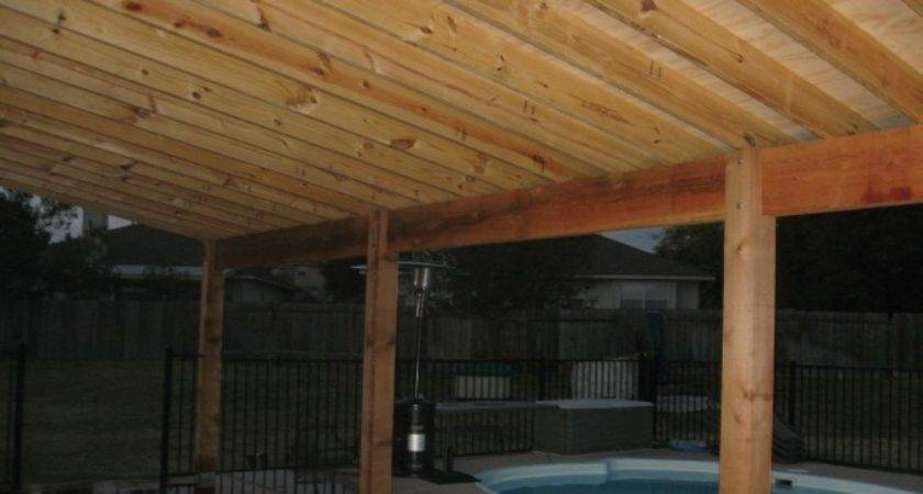 Amazing Building Patio Cover Build Covered