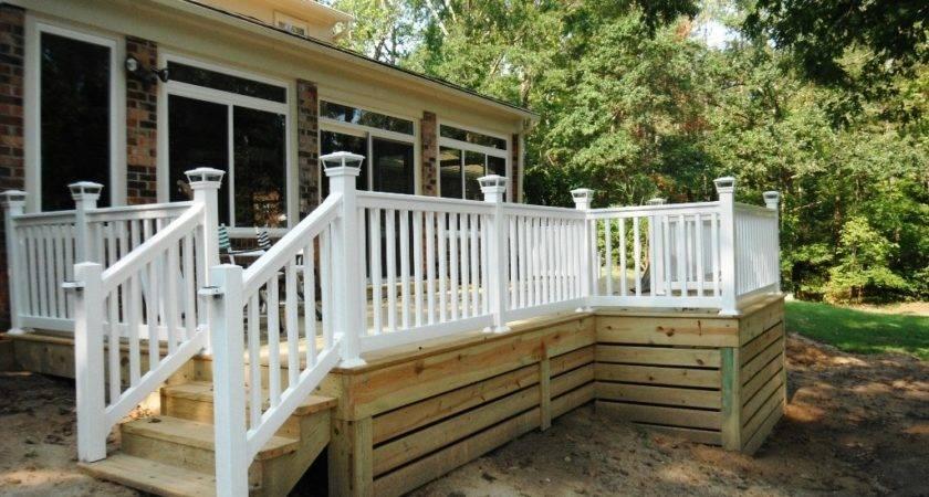 Amazing Deck Skirting Ideas Jbeedesigns Outdoor