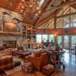 Amazing Decor Ideas Luxury Mountain Log Homes