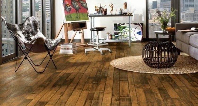 Amazing Design Ideas Rustic Hardwood Flooring