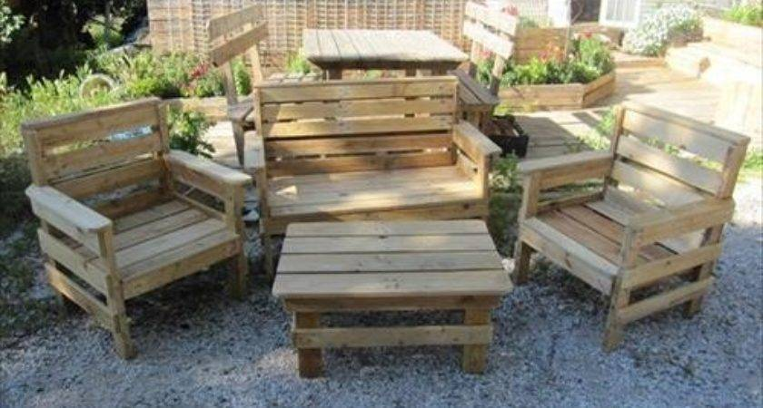 Amazing Diy Pallet Outdoor Furniture Ideas Pallets