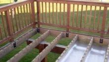 Amazing Elevated Deck Plans Bring Life Landscape