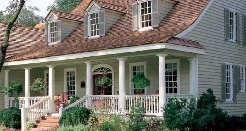 Amazing House Plans Front Porches Cape Cod Houses