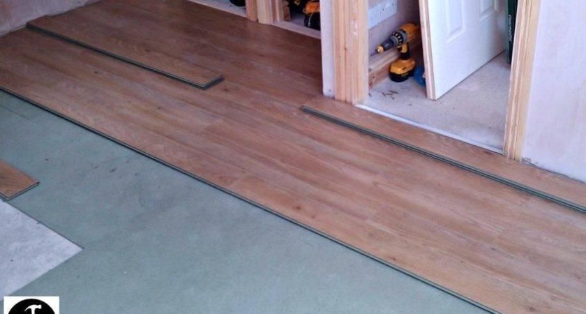Amazing Installing Laminate Flooring Over Tile