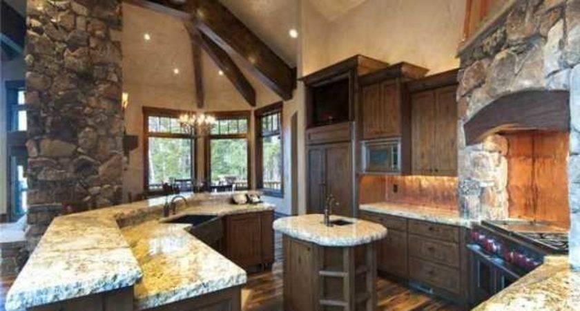 Amazing Kitchens Design Rustic Elements Home