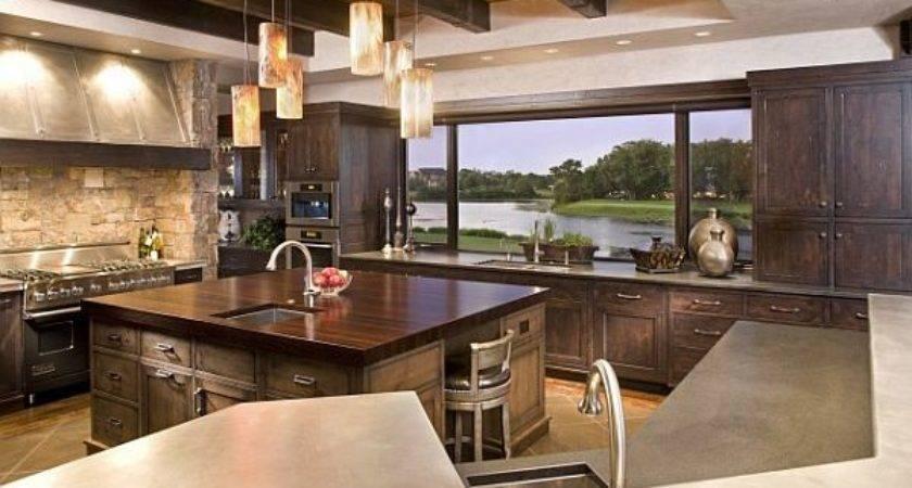 Amazing Kitchens Stunning Views
