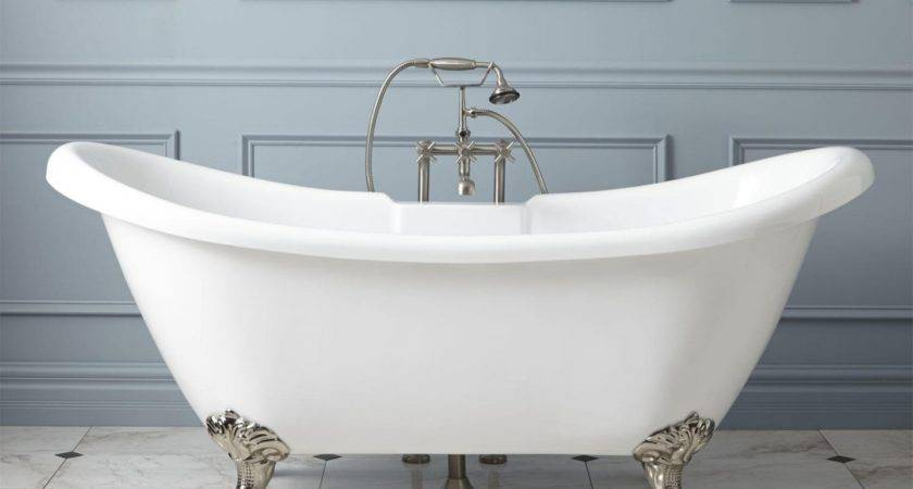 Amazing Standard Clawfoot Tub Collection