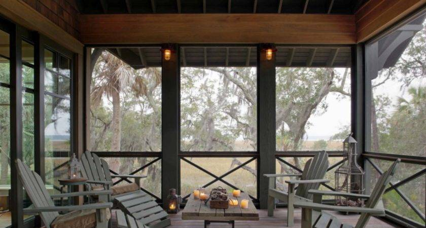Amazingly Cozy Relaxing Screened Porch Design Ideas