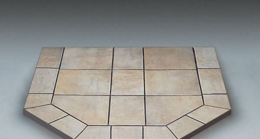 American Panel Carmel Tile Double Cut Stove Board