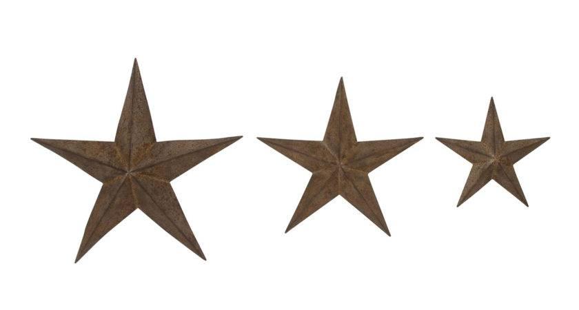 Americana Barn Stars Wall Art Set