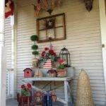 Americana Decorated Porch Garden Crafts Pinterest