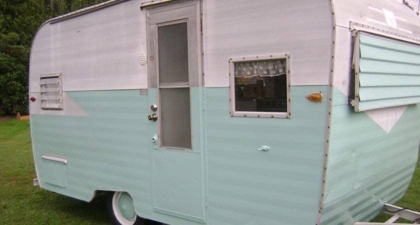 Amy Vintage Cottage Sale Travel Trailer