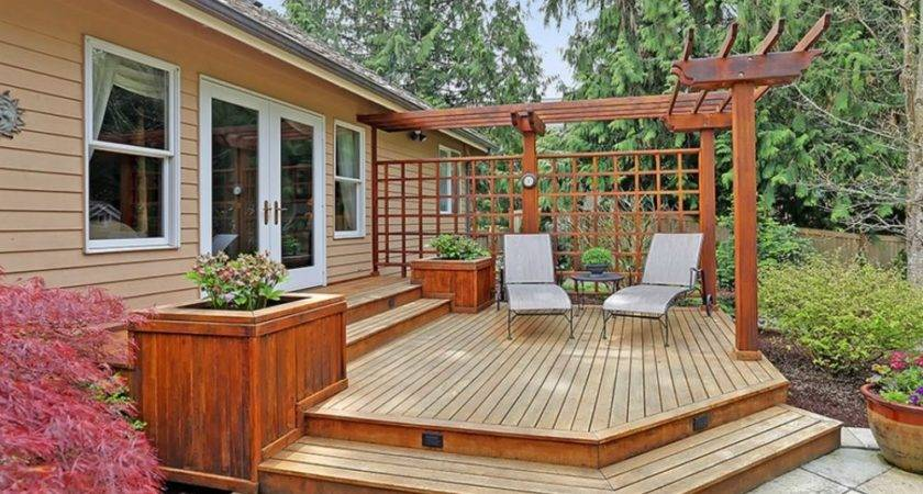 Angle Your Deck Ideas Designs Make Yours