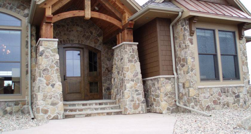 Antique Bronze Fieldstone Home Incorporates Buechel
