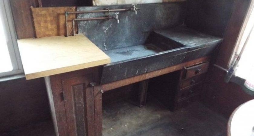 Antique Kitchen Sinks Galvanized Bathroom Sink Genersys