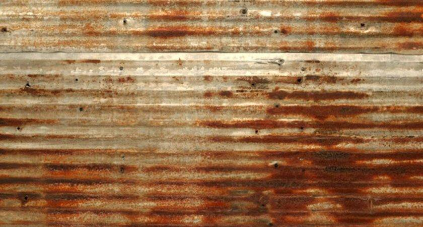 Antique Reclaimed Tin Rusted Rustic Barn