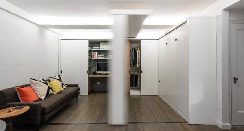 Apartment Has Sliding Wall Change Its Functions