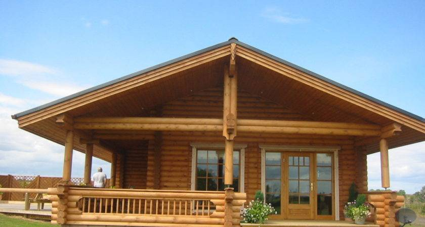 Appealing Log Cabin Style Mobile Home Design Ideas