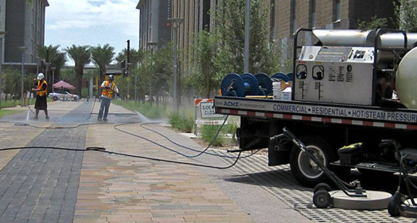 Apply Remove Sealers Stamped Concrete