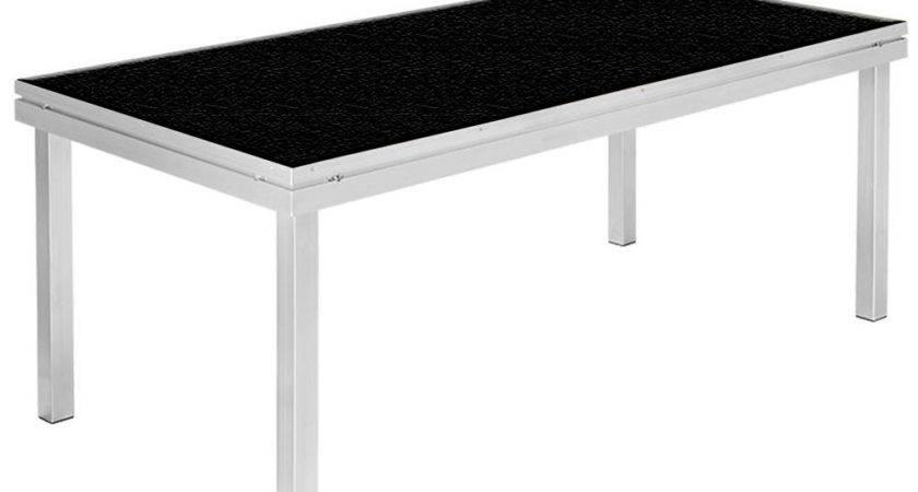 Apq Stage Deck Portable Platform Black Anti Slip