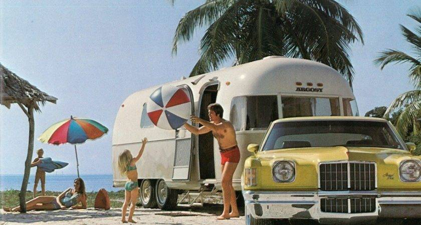 Argosy Short History Painted Airstream