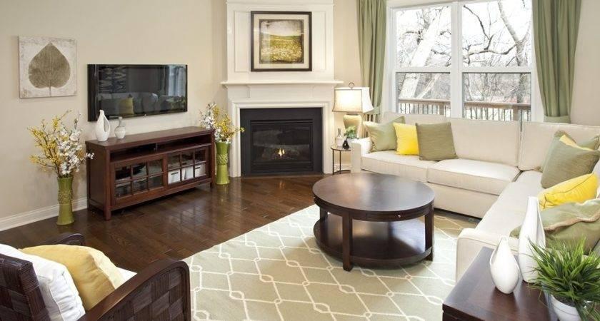 Arrange Furniture Living Room Corner Fireplace Emerue