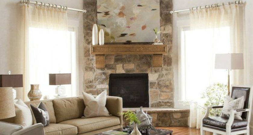 Arranging Furniture Corner Fireplace Brooklyn