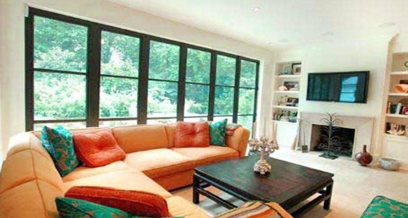 Arranging Living Room Fireplace Spotlats