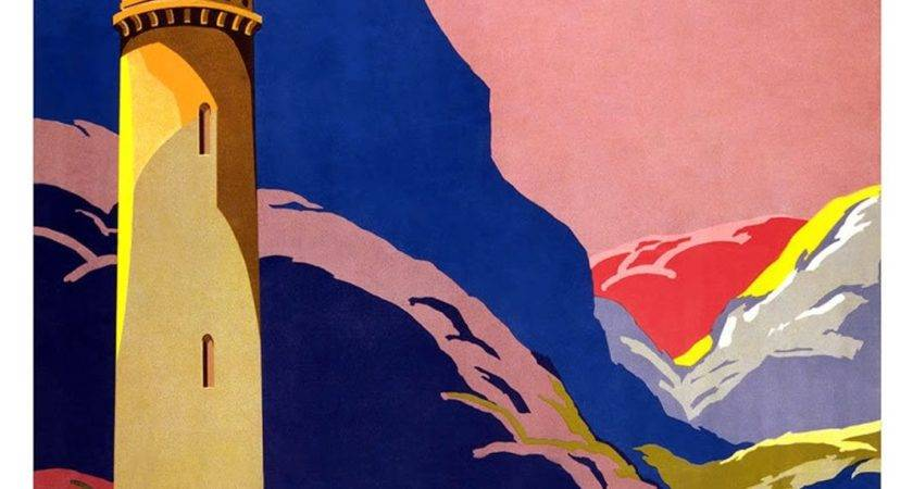 Art Artists Vintage Travel Posters Part