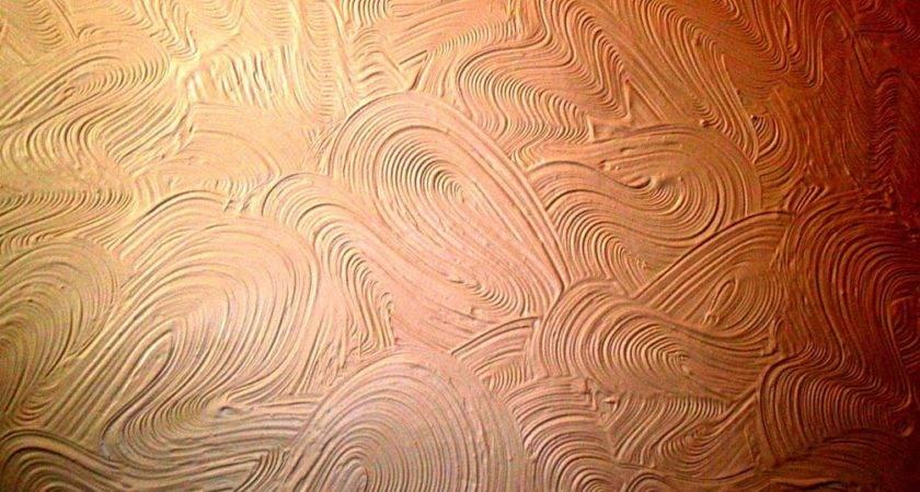 Artex Scroll Wall Texture Pattern Stipple Brush