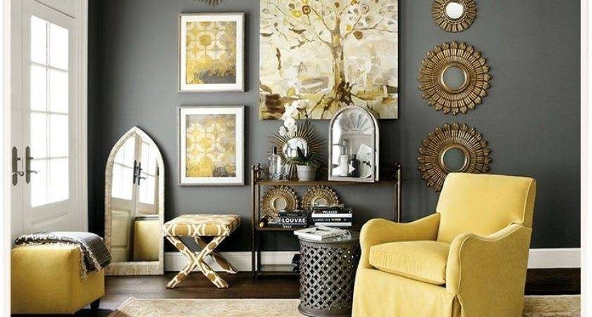 Astonishing Grey Yellow Living Room Ideas