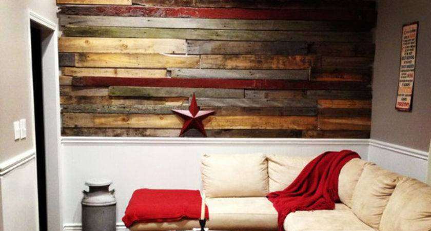 Astounding Living Rooms Pallet Walls Home Design