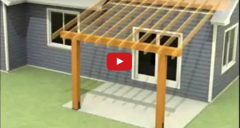 Attach Patio Roof Existing House