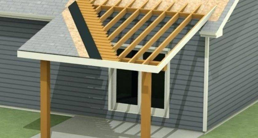 Attach Roof Over Deck House Attaching Porch