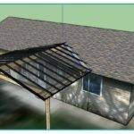 Attach Roof Over Deck House
