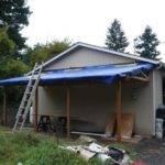 Attached Carport Cost Build Plans Lean Off House