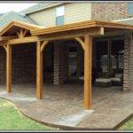 Attached Covered Patio House Patios Home Decorating