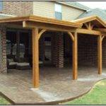 Attached Covered Patio House Patios Home Design