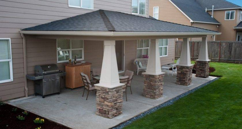 Attached Covered Porch Next Modular